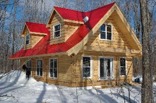 Picture of 24x40' EcoLog home
