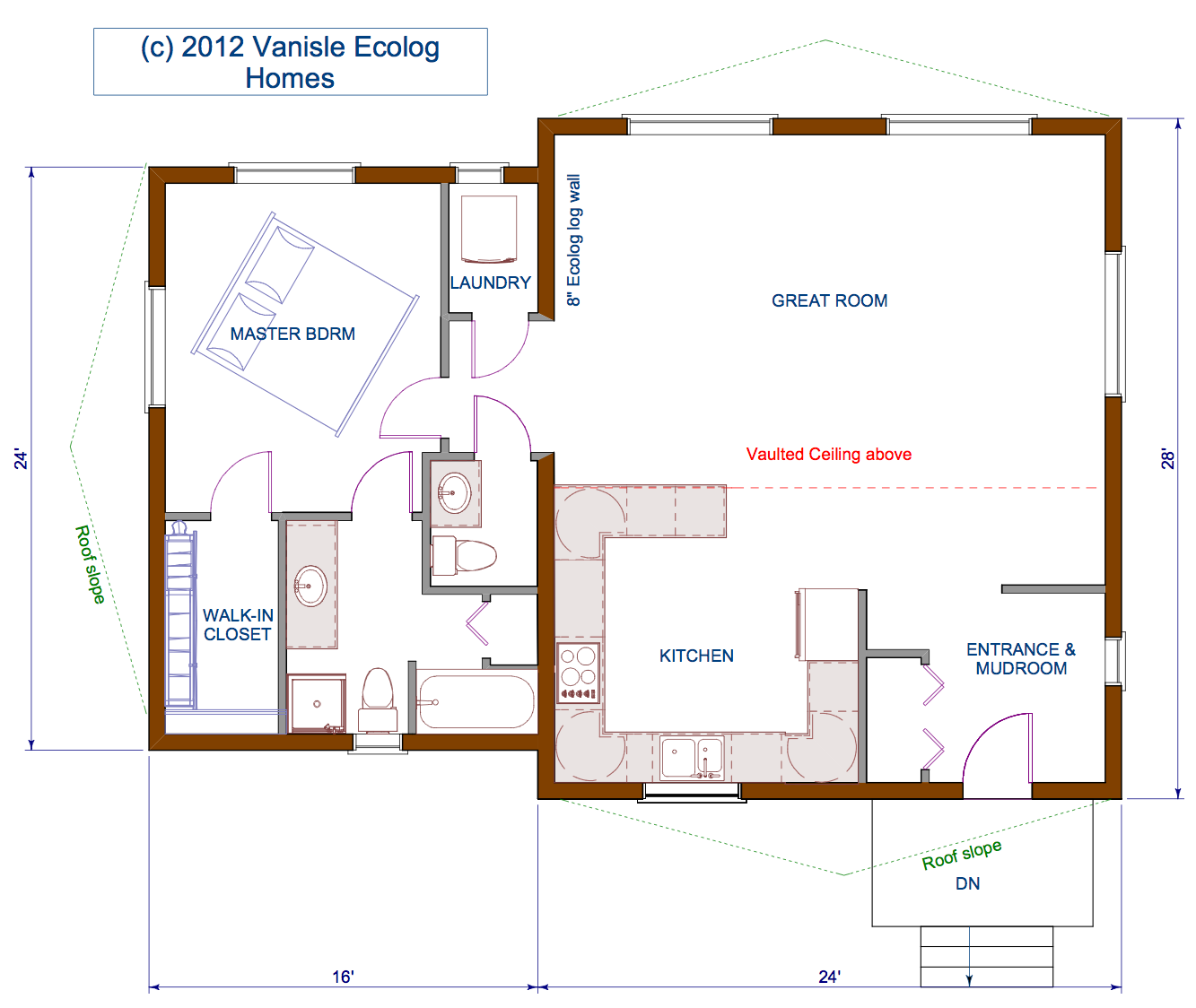 C Shaped House Floor Plan House Plans