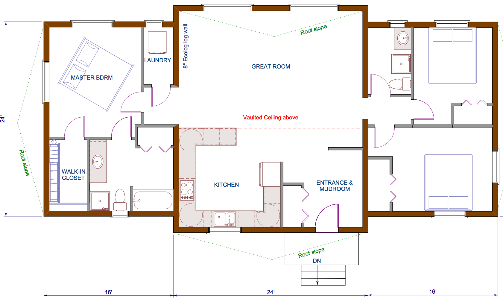 open concept bungalow floor plans submited images